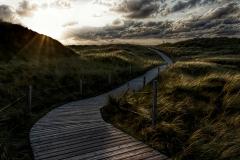 - Weg zum Strand -